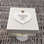 Shabby Personalised Chic Special Best Friend Gift Trinket Box Jewellery Friends - 253191100646